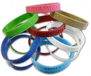 bracelets en silicone publicitaires
